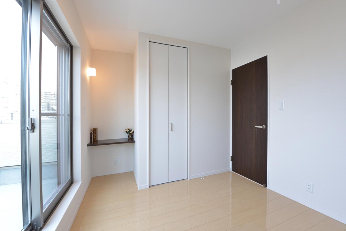 高槻 工務店 新築・建替え・狭小住宅3階部分