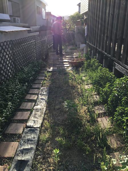 高槻市 工務店 新築・外構リフォーム・手入れが楽な庭