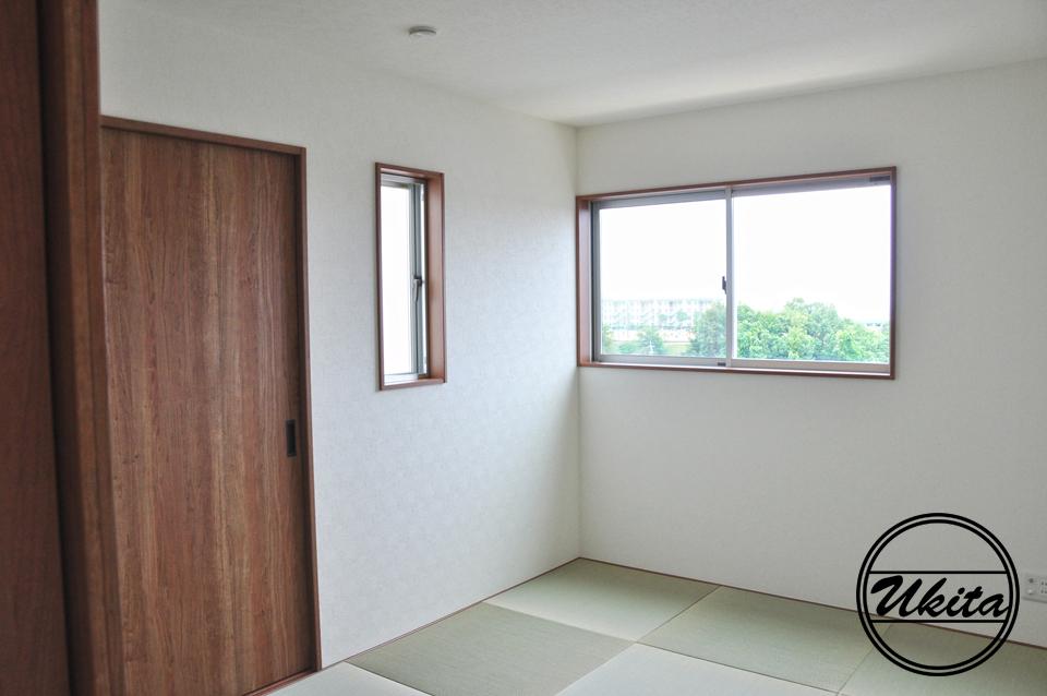 高槻市 工務店 新築・建替え・眺めのいい家の和室