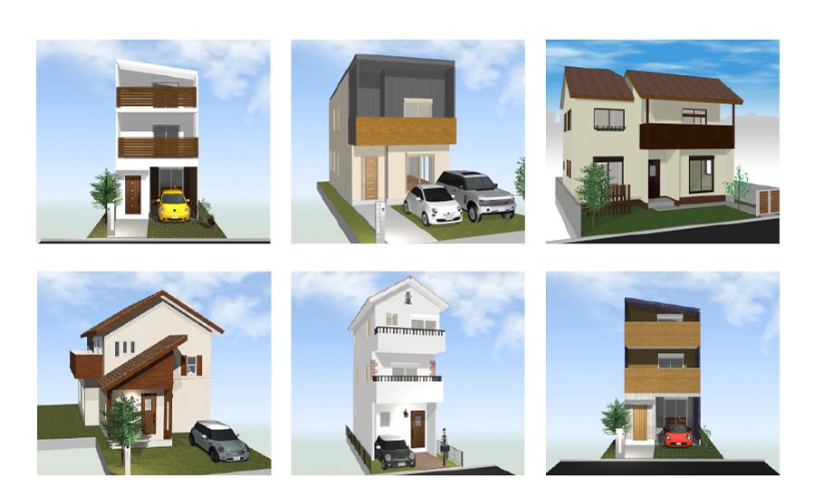 浮田工務店スタンダードタイプの新築住宅の画像