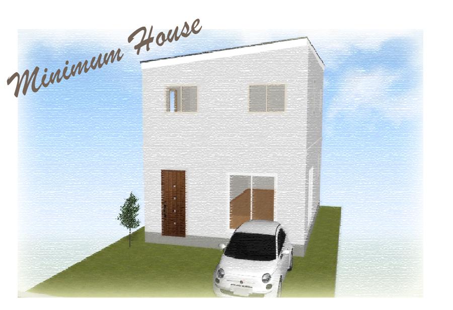 浮田工務店ミニマムタイプの新築住宅の画像