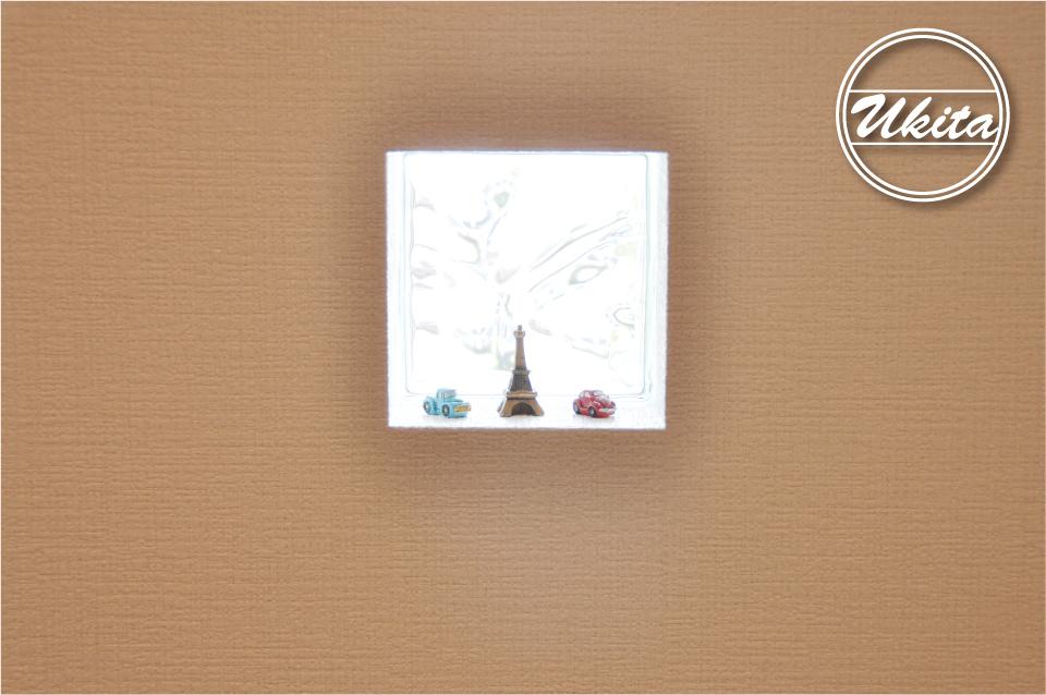 高槻市 工務店 新築・建替え・平屋のこだわりの家ガラスブロック