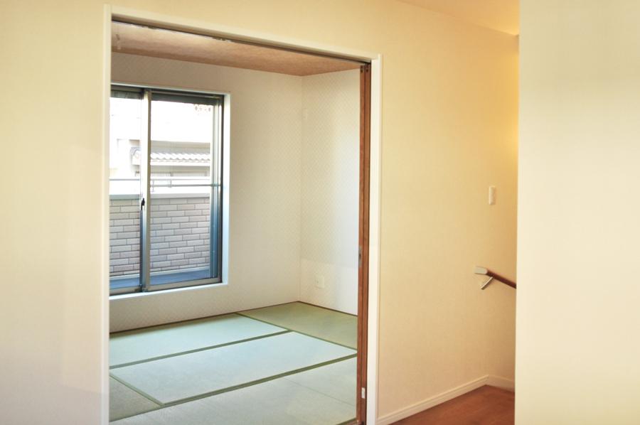 高槻 工務店 新築・建替え・ホームエレベーター付き住宅和室部分