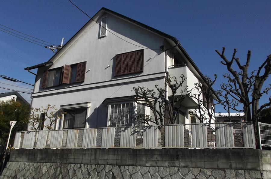 高槻 工務店 新築・建替え・一軒家外壁リフォーム前