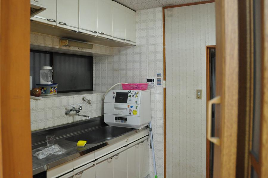 高槻 工務店 ・一戸建キッチンリノベーション前