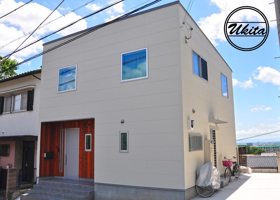 高槻市 工務店 新築・建替え・ウッドデッキのある家