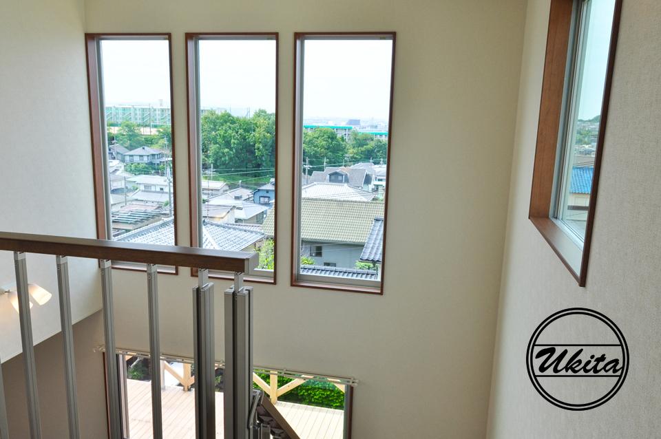 高槻市 工務店 新築・建替え・2階からの眺め