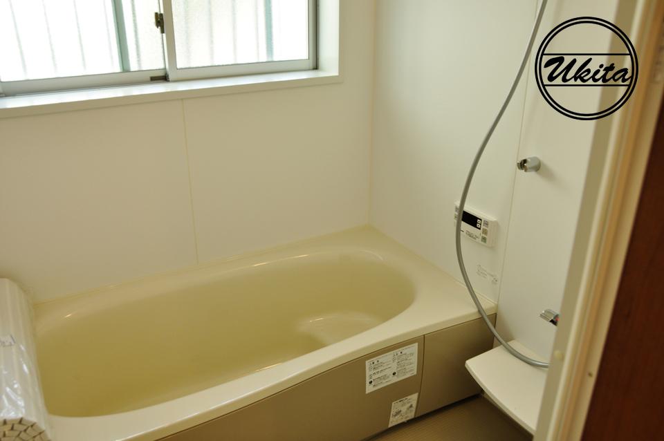 高槻市 工務店 新築・建替え・ウッドデッキのある家お風呂