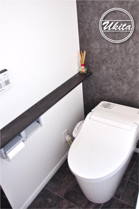 高槻市 工務店 新築・建替え・平屋のこだわりの家トイレ